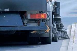 TIB -Kehrbürsten im Einsatz für die Straßenreinigung